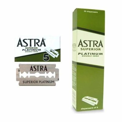 Astra lame da barba platinum in dispenser