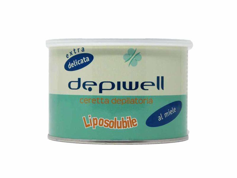 Depiwell ceretta depilatoria liposolubile al miele