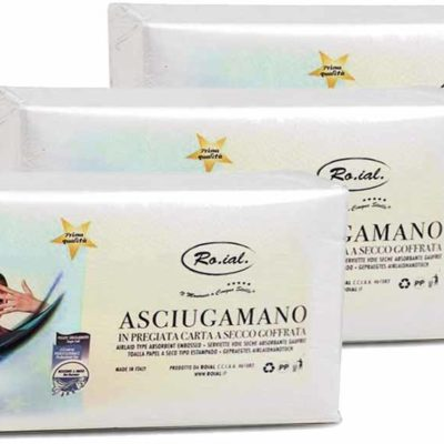 Ro.ial Asciugamano monouso made in italy