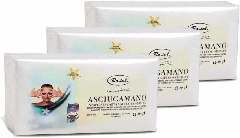 Ro.ial Asciugamano monouso made in italy