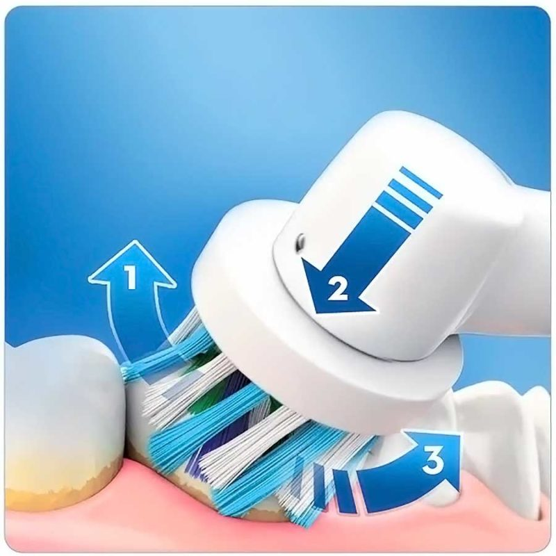 Braun oral-b vitality crossaction spazzolino elettrico